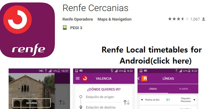 Renfe Android